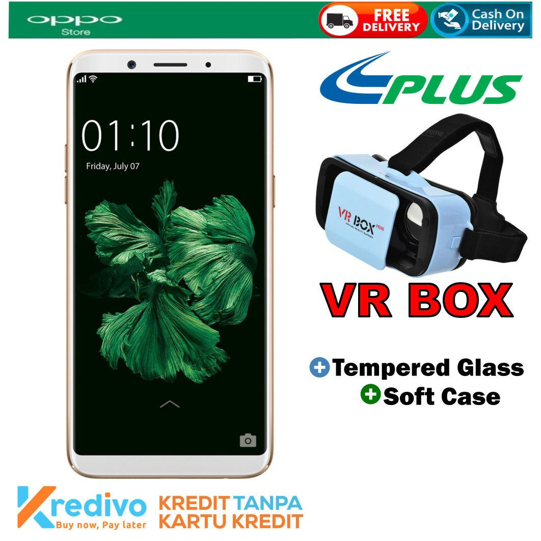 Oppo F5 4/32 GB - Gold Garansi Resmi Plus VR BOX Cash & Kredit