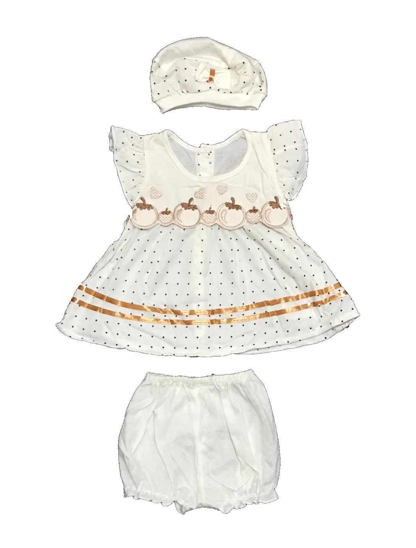 BAYIe - Setelan Baju bayi Perempuan motif LUCU MOM'S GIFT usia 0 - 6 bulan /