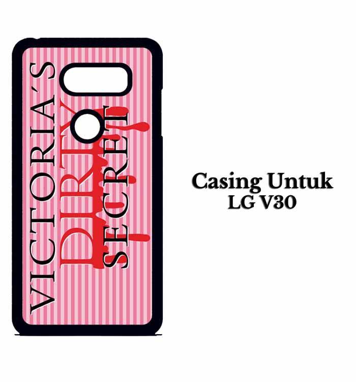 Casing LG V30 peta victorias secret parody Custom Hard Case Cover