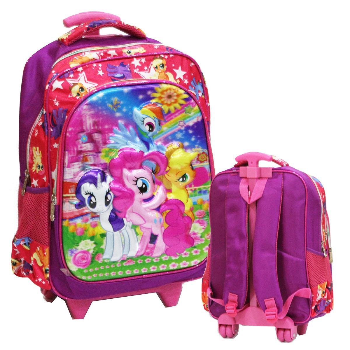Toko Onlan My Little Pony 5D Tas Anak Sekolah Sd New Model Termurah Dki Jakarta