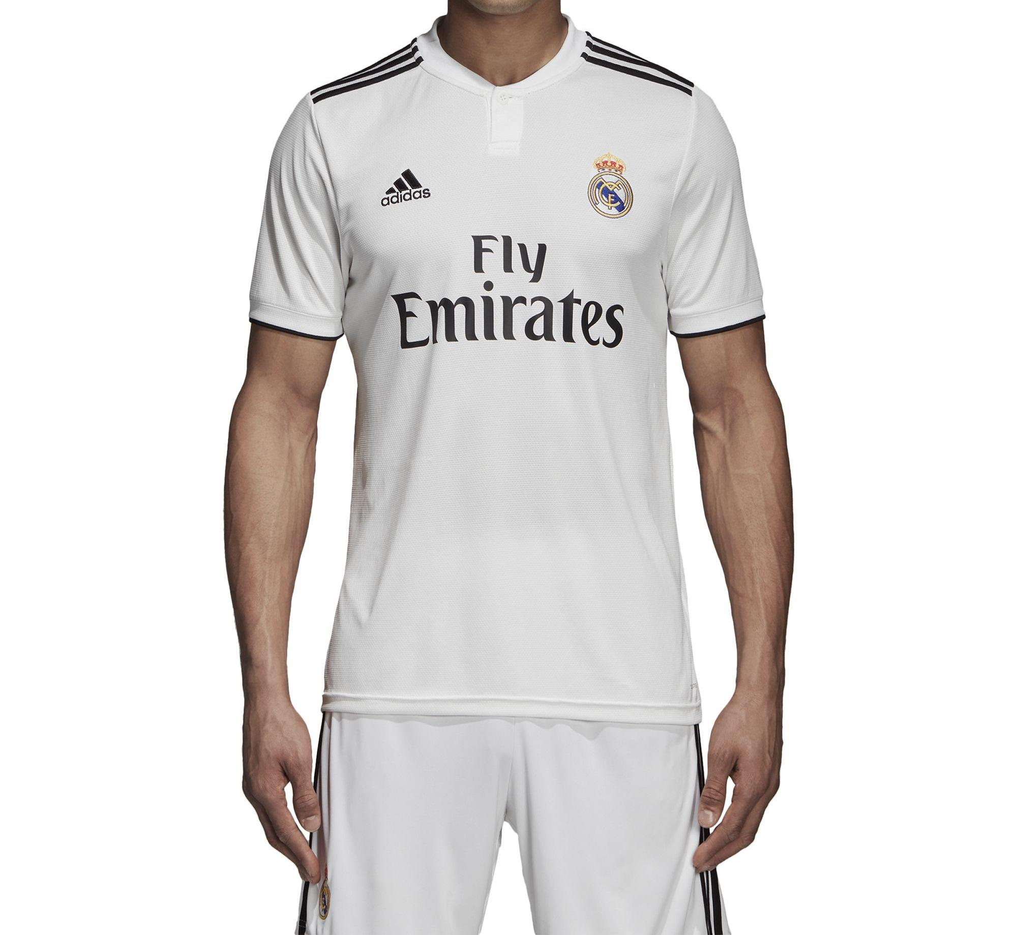Zoc Jersey Bola Kaos Olahraga T-Shirt MADRID SET CELANA Home / Away / 3RD