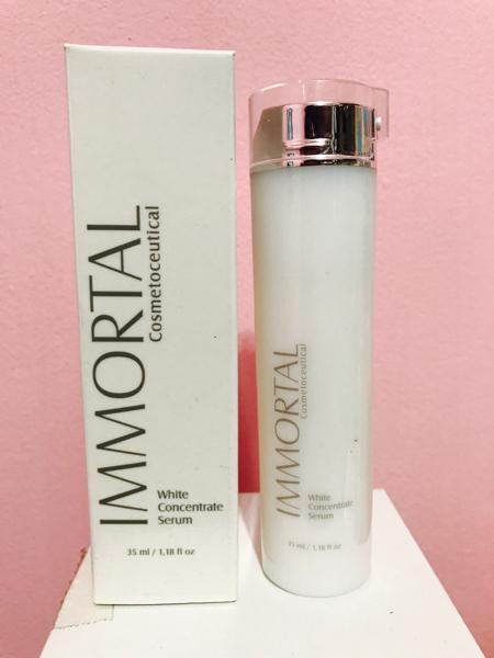 immortal whitening concentrate serum white – pemutih & pencerah wajah