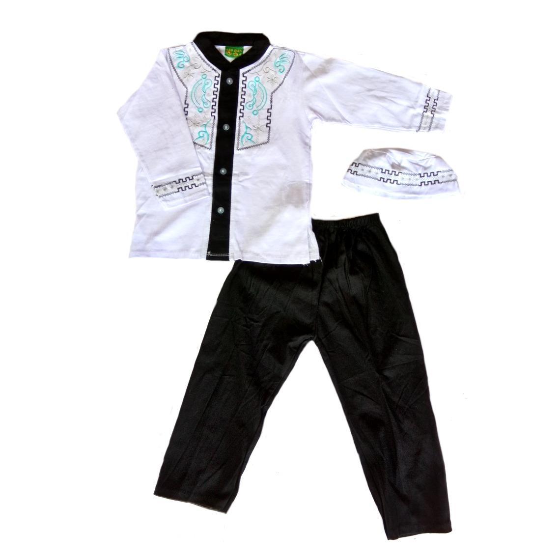 Ghali Koko Muslim Anak - Baju Koko Bayi Anak New / Baju Setelan Muslim Bayi dan Anak - Baju Anak Murah Setelan Koko Murah Koko Bayi Koko Murah -
