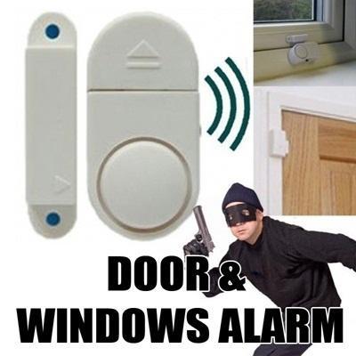 ... 2 PCS - Alarm anti maling pencuri jendela kaca pintu rumah toko gudang - 3