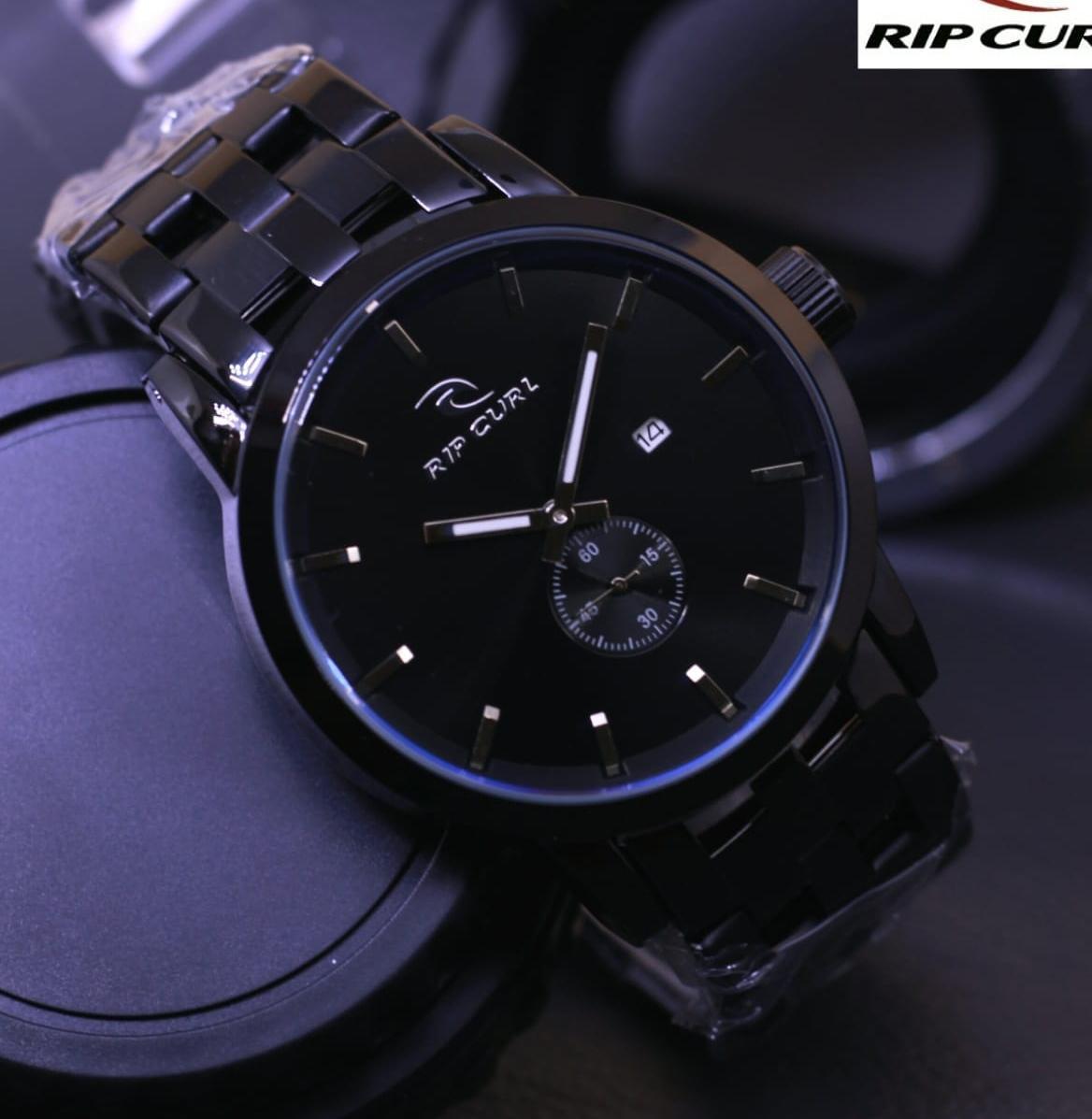 Jam Tangan Fashion Pria Ripcurl Detroit Black