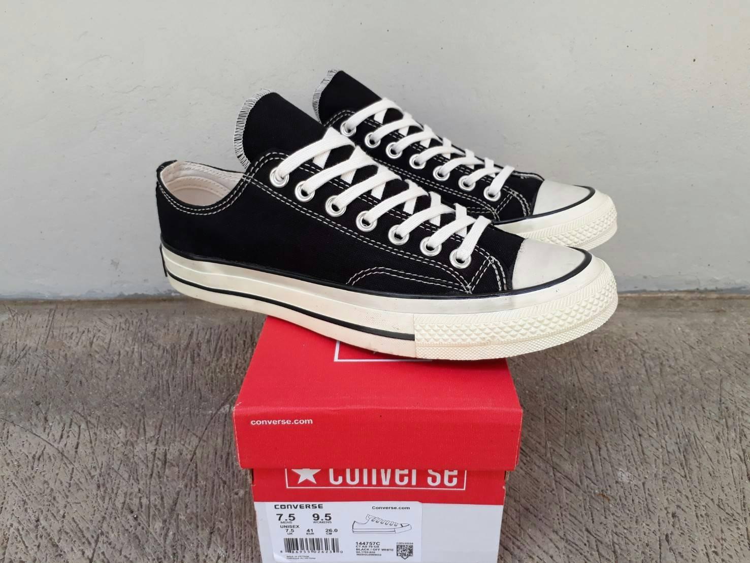 Kelebihan Sepatu Converse Low 70 S Black White Premium Bnib Made In Chuck Taylor 2 Original Vietnam 70s
