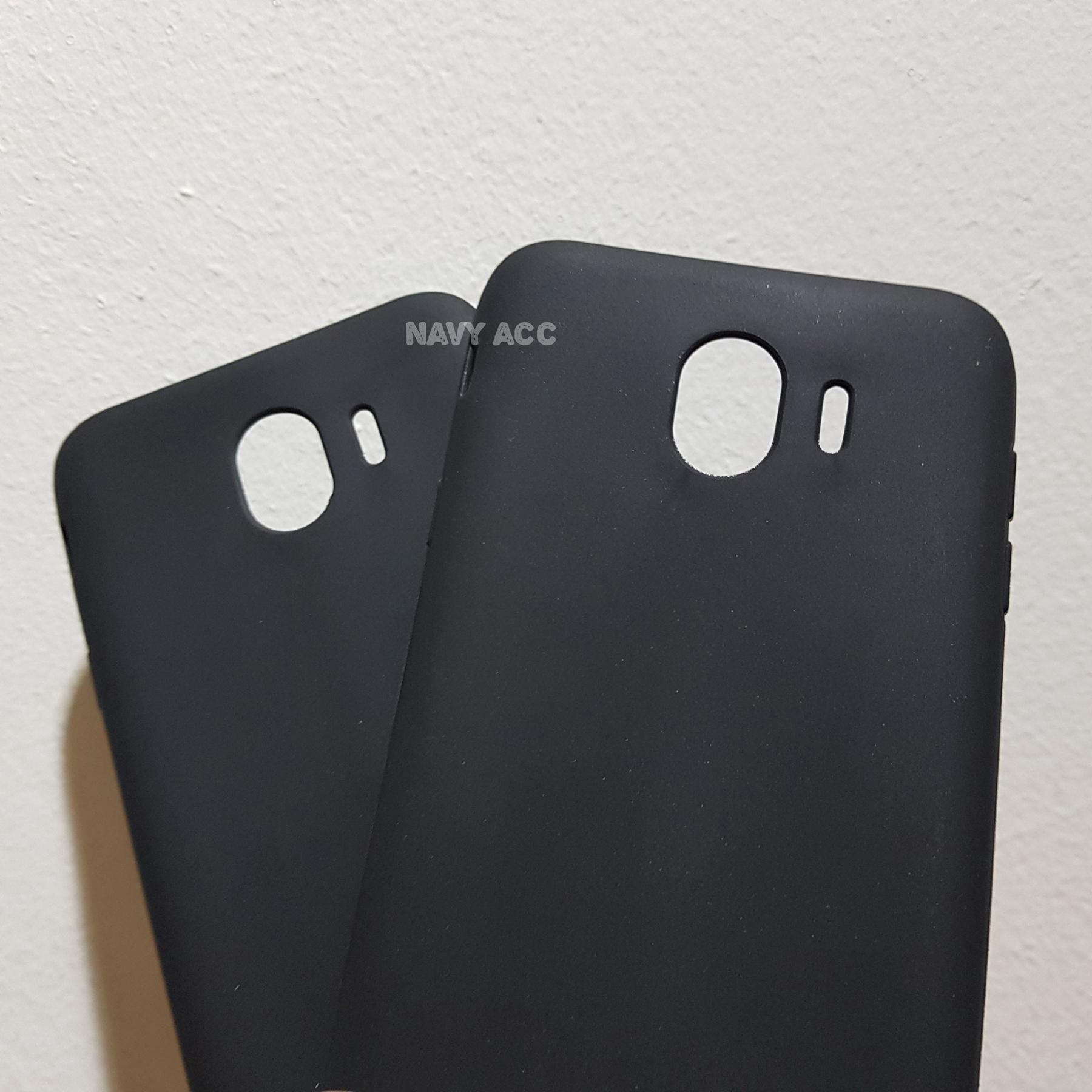 Case Samsung J4 2018 - Softcase SILICON THIN Doff BLACK MATTE J4 - 2 ...
