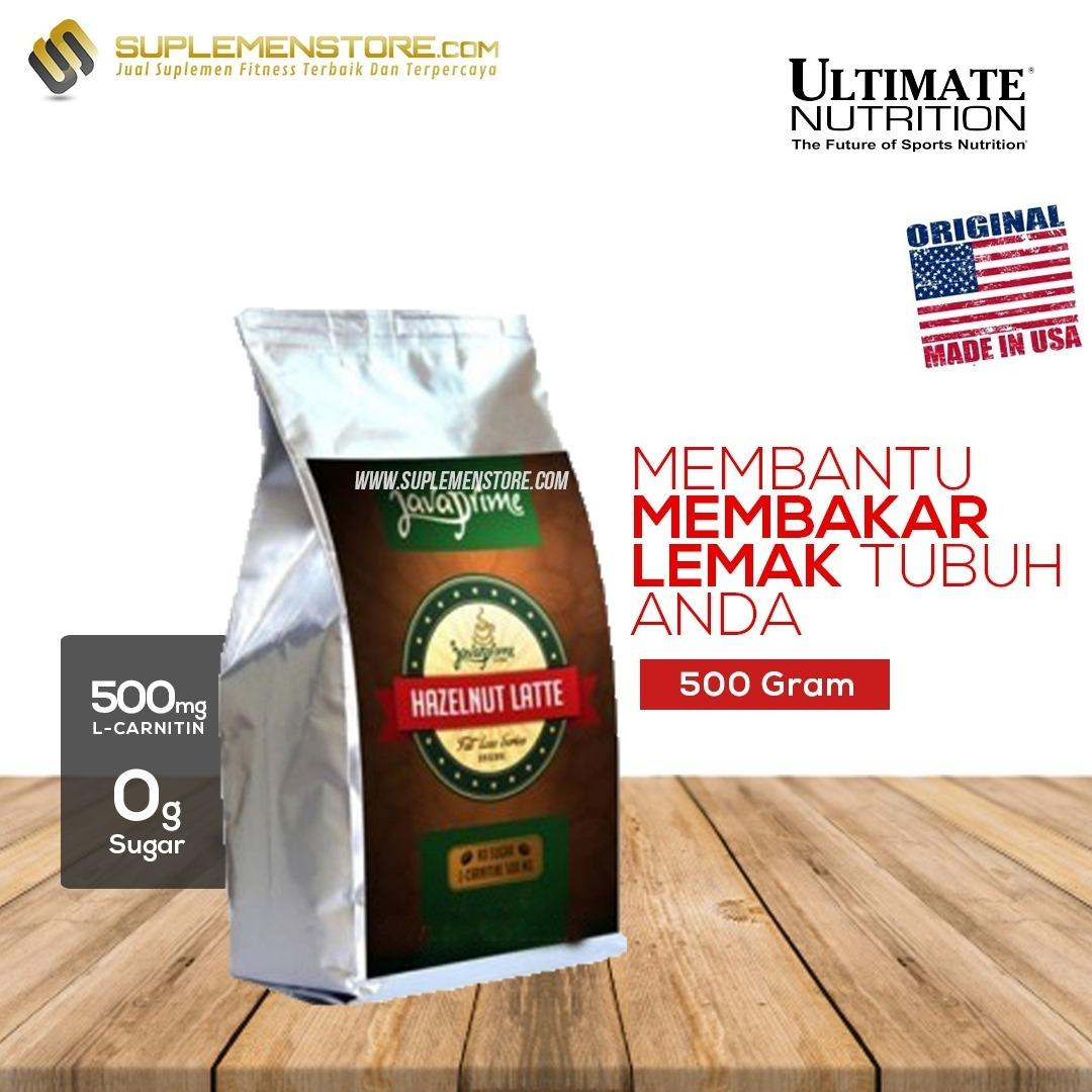 Harga Ultimate Nutrition Java Prime Coffee Hazelnut Latte 500Gr Satu Set