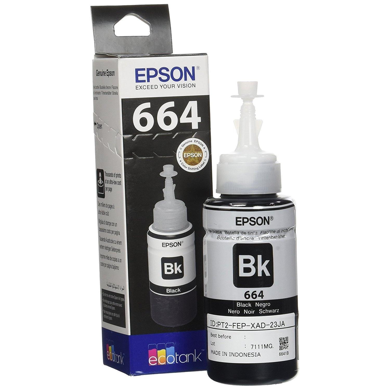 Tinta Epson Original 664 for L100 L110 L120 L200 L210 L220 L300 L310 L350 L355