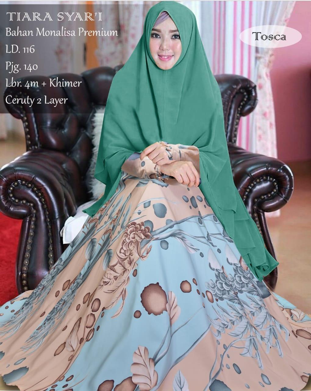 Fitur Wikie Collections Gamis Syari Cadar Gamis Syari Gamis Premium