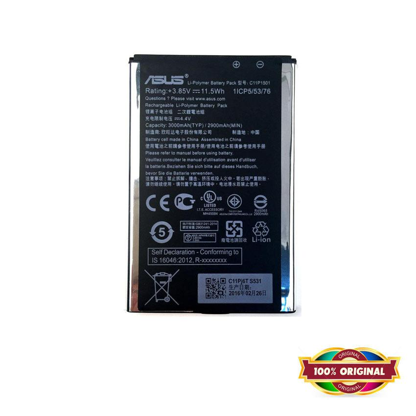 100% ORI - Battery for Asus Zenfone 2 Laser 6.0 inch / ZE601KL - Garansi 1 Bulan
