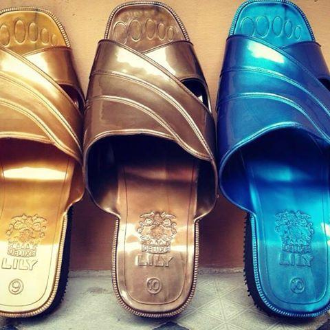 rollet shop sandal jadul lily warna acak / sandal jadul / sandal betawi / sandal pitung