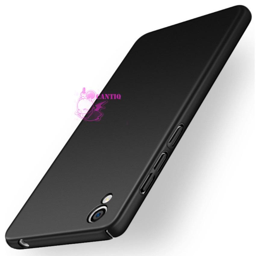 QCF Case Vivo Y51 Hard Slim Black Mate Anti Fingerprint Hybrid Case Baby Skin Vivo Y51