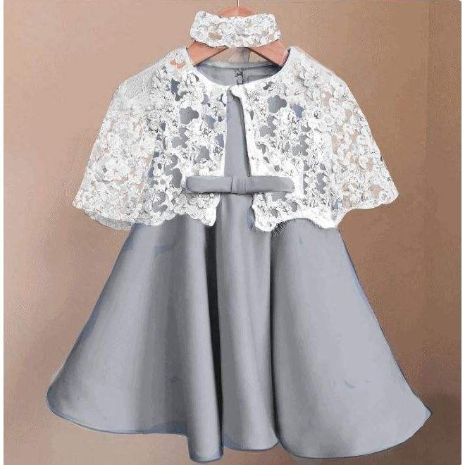 JOFIN - Setelan Baju / Atasan dan Bawahan / Batik / Kebaya Dress cape Kelly kids