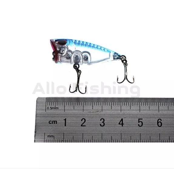 Lure Pancing Mini Popper 4cm - 4gram Kualitas Premiun - rJIsR1 Terbaru