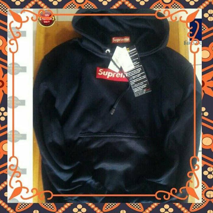ORIGINAL!!! jaket sweater hoodie zipper SUPREME KEREN - 8KkBJ2