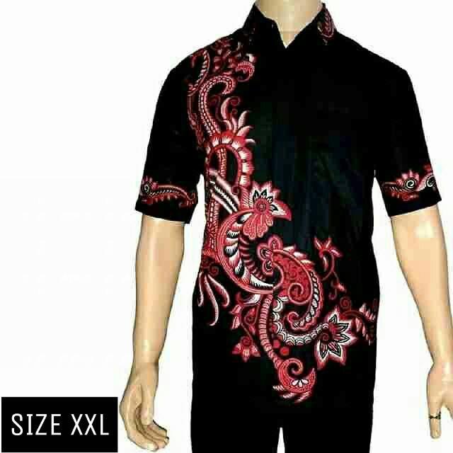 Toko Model Baju Batik Ukuran Jumbo Xxl Baju Batik Besar Kemeja Batik Size Jumbo Motif Rang Rang Terlengkap