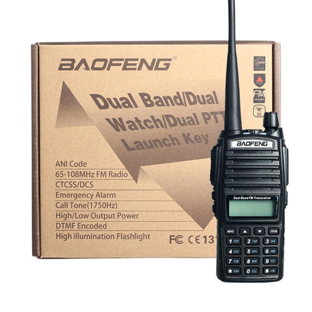Kelebihan Baofeng Uv 82 Dual Band Ht Uhf Vhf Uv82 Dualband Plus Fm Bf Uv5r Walkie Talkie