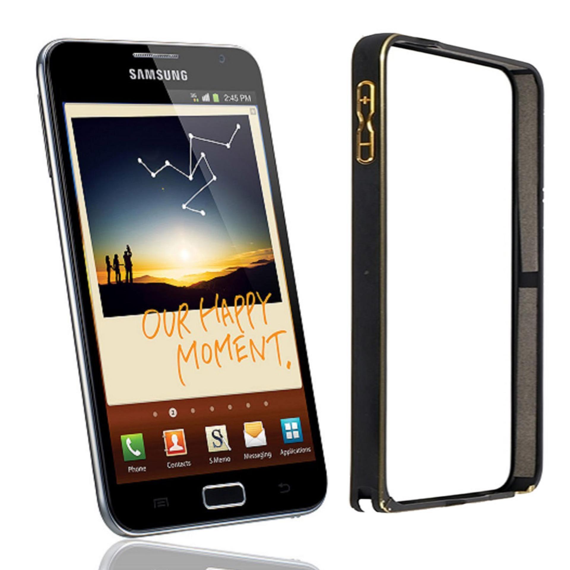 Kehebatan Aluminium Bumper Stainless Metal Bezel List For Samsung Case Untuk Galaxy A3 2015 Note 1 I9220 N7000