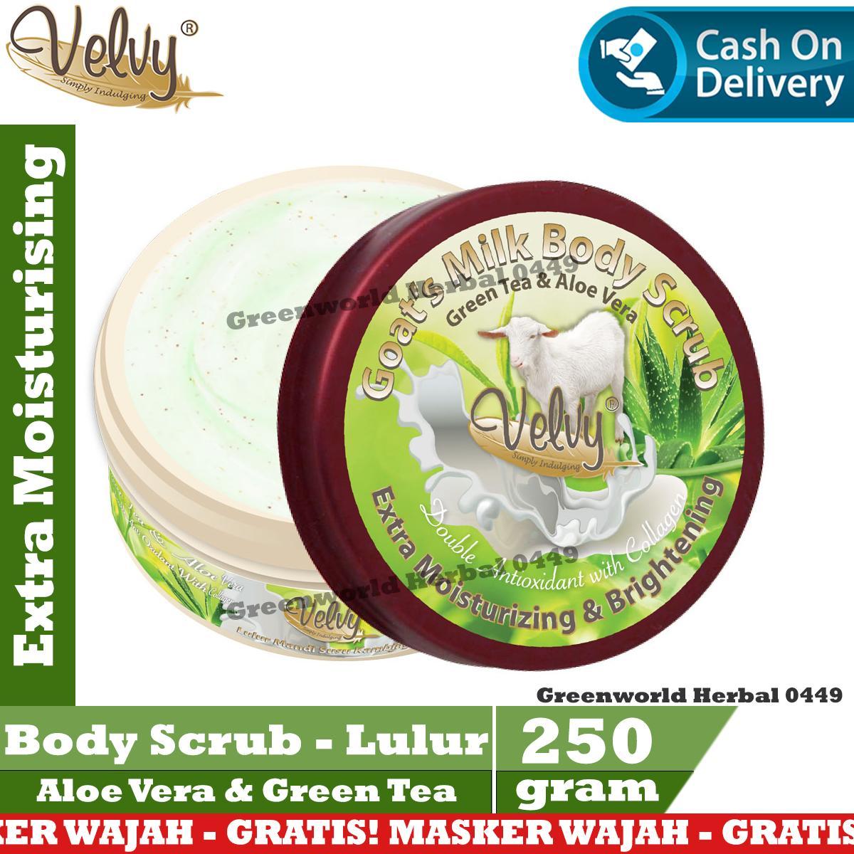 Lulur Bali Spa Green Tea Idea Gallery Cream 100gr Velvy Body Scrub Aloe Vera Original 250 Gram