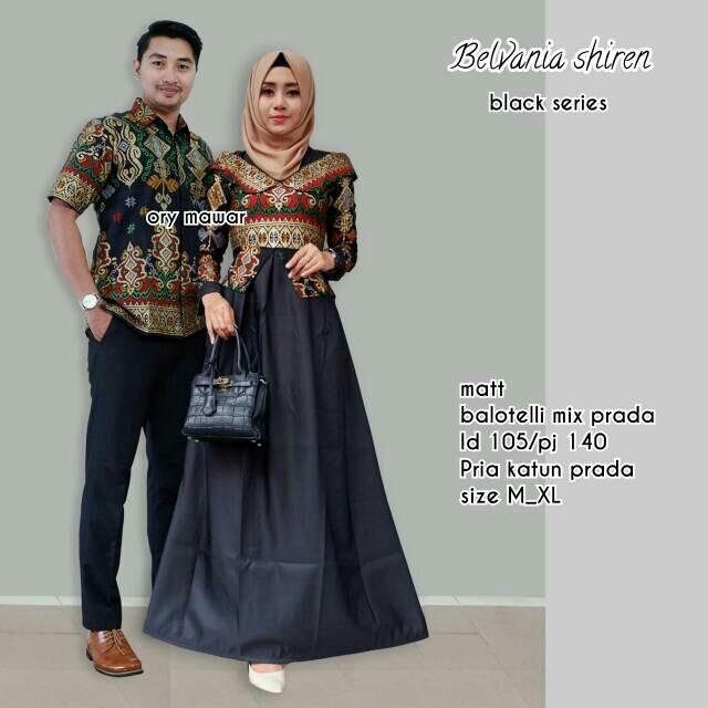 Jual Batik Couple Batik Sarimbit Batik Kondangan Belvania Shiren Di Bawah Harga