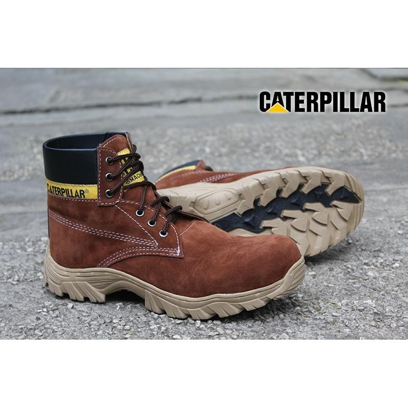 High Quality Sepatu Caterpillar Diesel Safety Boots ORIGINAL