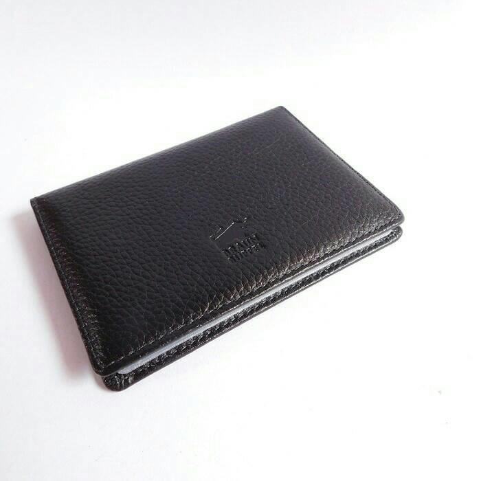 dompet kartu/card kulit Braun buffel