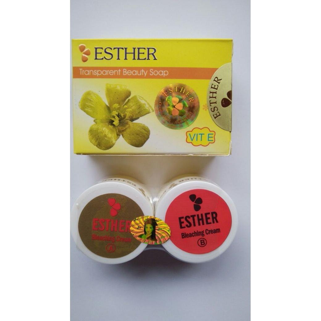 Spesifikasi Esther Bleaching Cream Ab Original Esther Terbaru