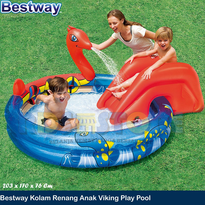 Kelebihan Bestway Space Ship Pool Warna Metal Kolam Renang Mandi Ocean Life 122 Cm Bola Anak Keluarga Viking Play