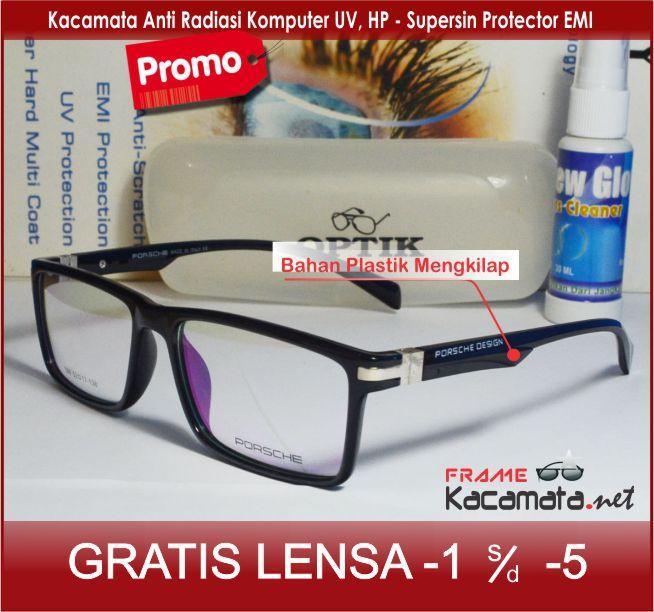 ... Frame kacamata Minus Anti Radiasi Hp Komputer 106 + lensa minus plus silinder  kacamata 68bfba096e