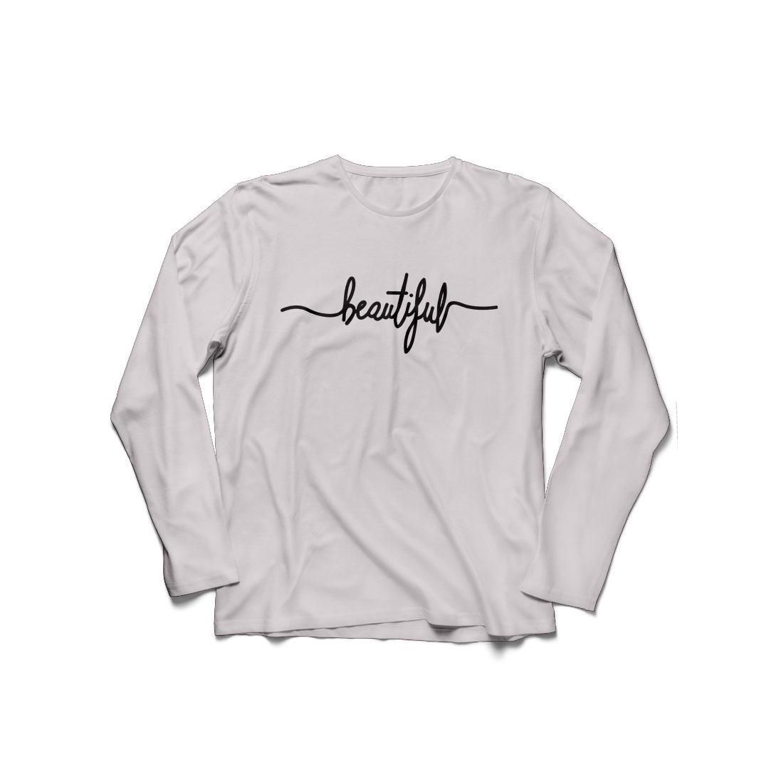 POLARISSHIRT - Baju Kaos T-shirt BEAUTIFUL Big Size Ukuran XL Tumblr Tee / Kaos