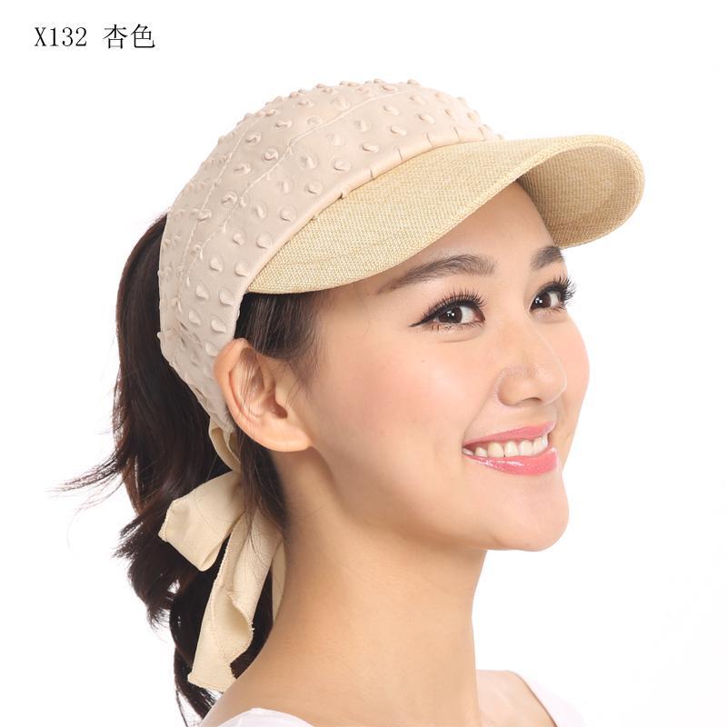 Topi wanita Musim panas Topi caddy Topi Olahraga topi matahari perjalanan  topi bisbol Gaya Korea topi 284475efc2
