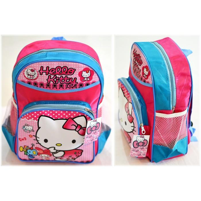 Tas Hello Kitty Sansan Wawa Ransel Sekolah Anak Perempuan Tk Playgroup - Veojov
