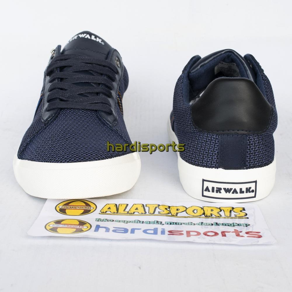 Sepatu Sneaker Pria Airwalk Koby AIW18CM0101N - Navy - 3 .