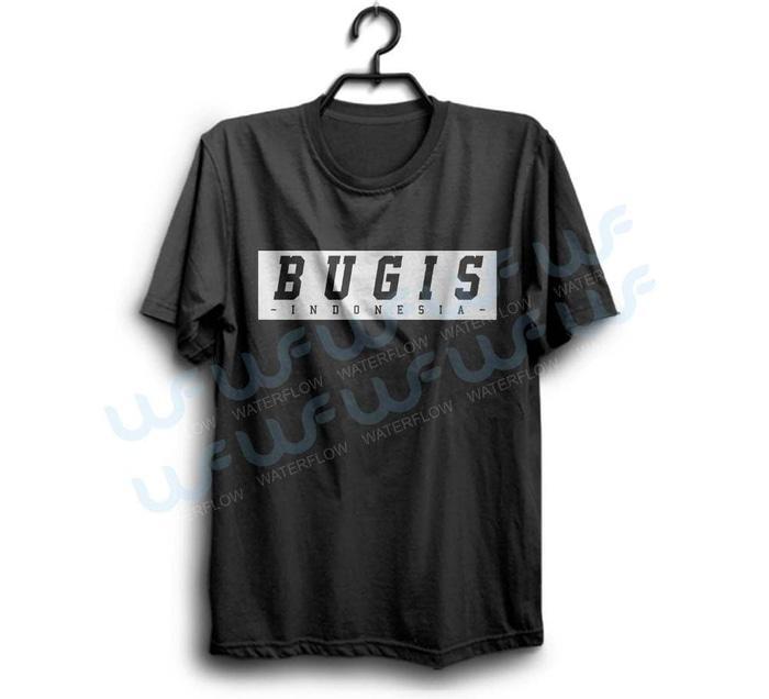 Kaos Bugis Indonesia Cocok Untuk Oleh Oleh Atau Merchandise- Bisa