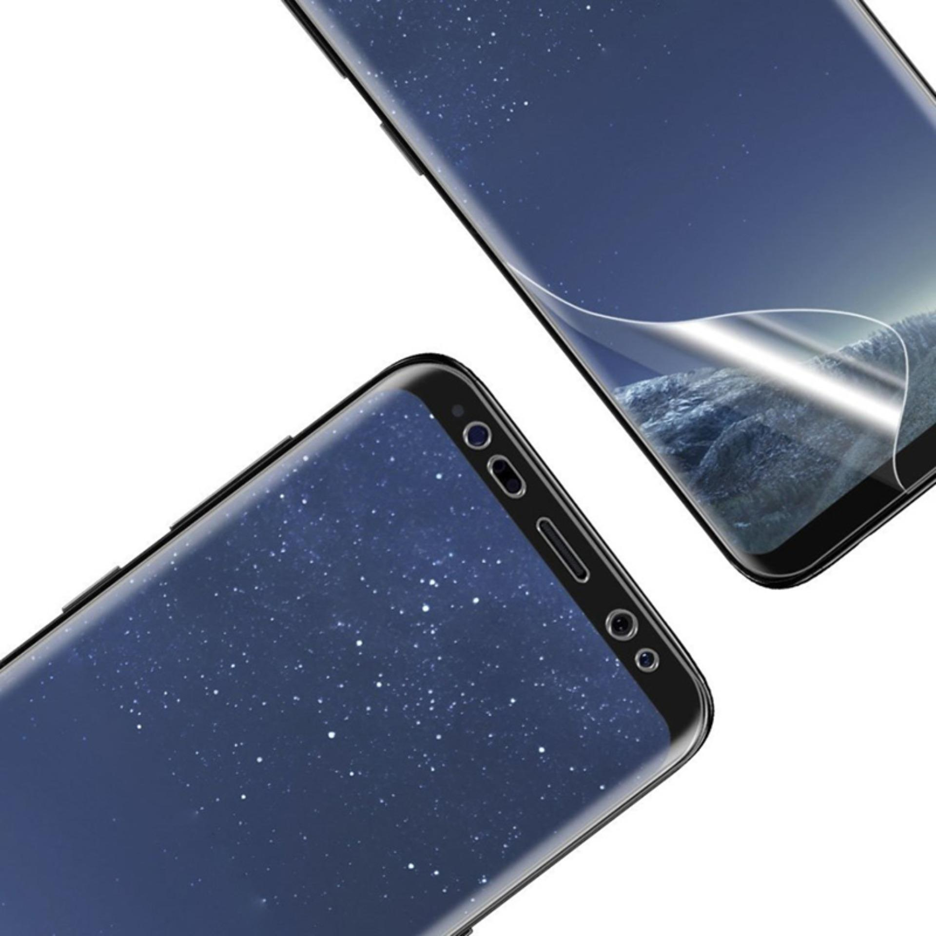 ... Samsung Galaxy S9 PLUS Screenguard PET Full Cover Screen Protector Not Tempered Glass (Clear) ...