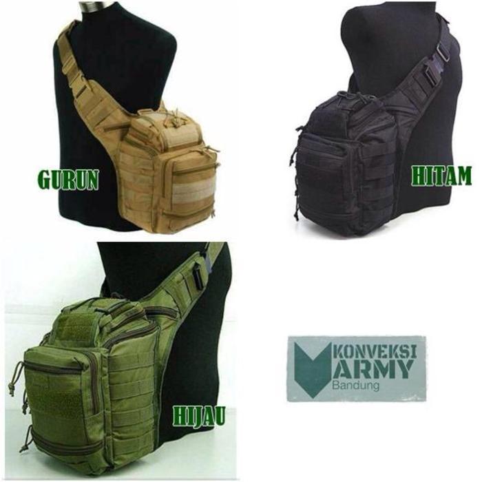 Tas Selempang Army Tactical 803 / Tas Kamera / Military / Tas Militer