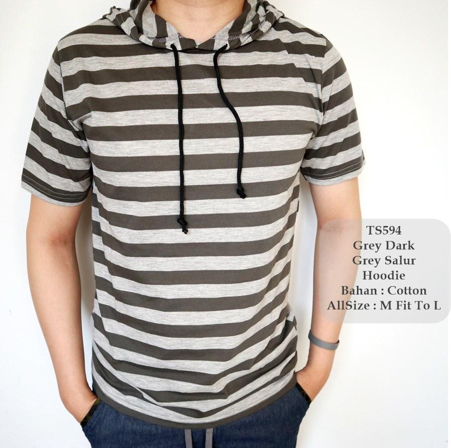 GFS 594 T-Shirt Cowok / Kaos Fashion Cowok/ Kaos Lengan Pendek Cowok /