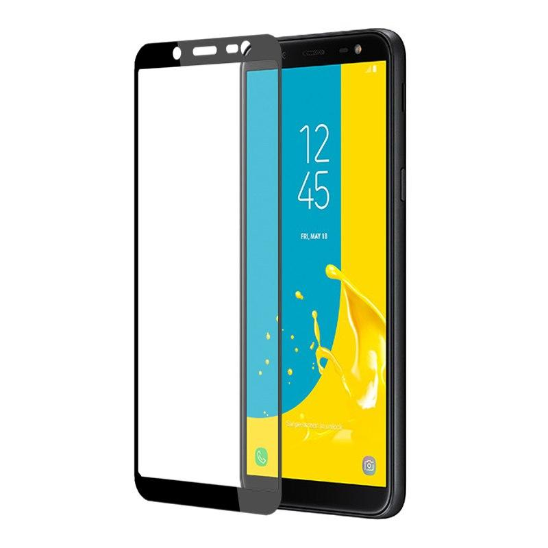 Accessories Hp 3D Full Cover Tempered Glass Warna Screen Protector Samsung Galaxy J6 2018 - Black