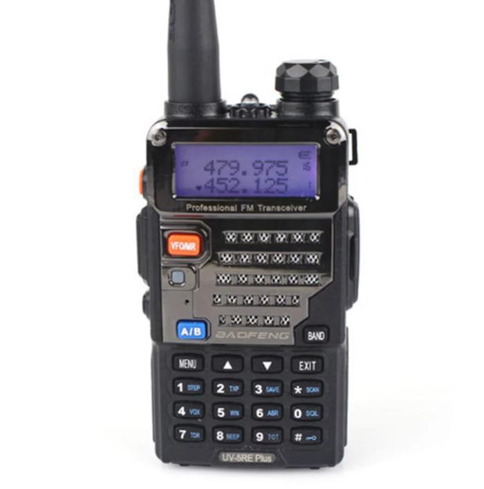 TERLARIS!!! HT Handy Talky UV5RE radio baofeng UV5R HITAM - 4nnlQt