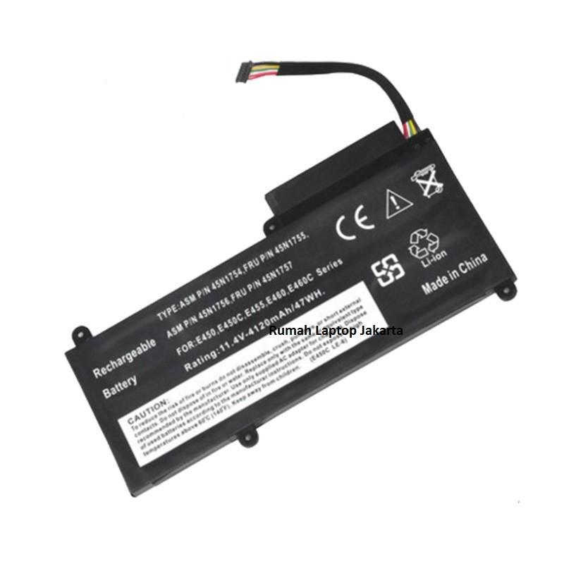 Baterai Laptop Lenovo Thinkpad E450 E450C E455 E460 E460C