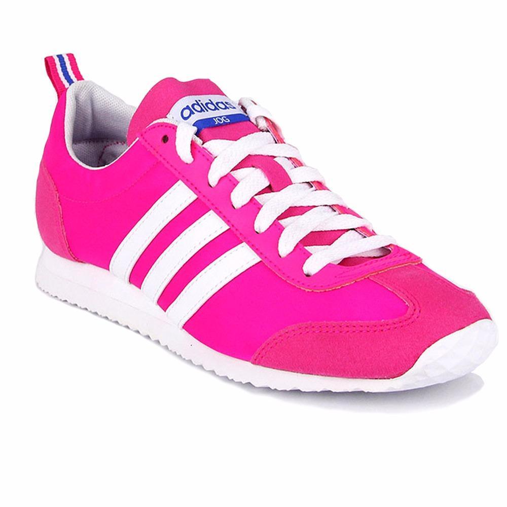 Beli Adidas Jogging Shoes Vs Jog W Aq1521 For Women Original Pink Murah