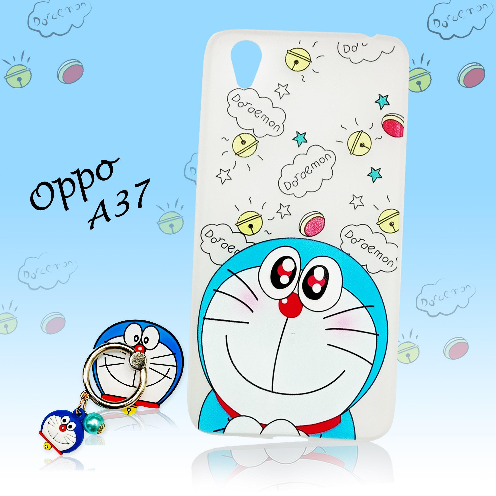 Marintri Case Oppo A37 New Case Plus I'ring Doraemon Cute