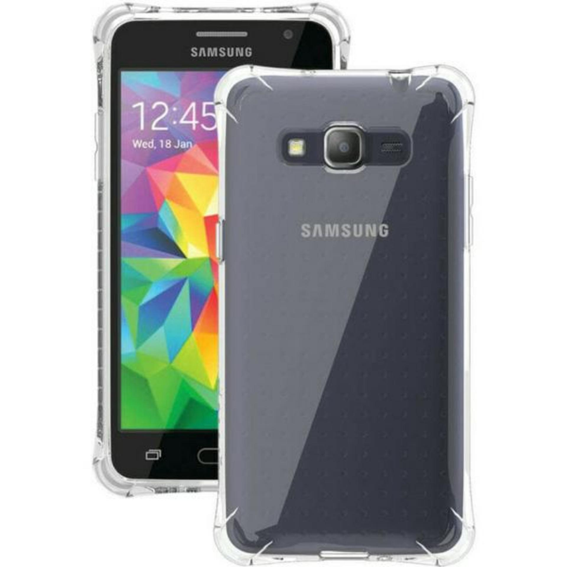 ShockCase for Samsung Galaxy J2 Prime / 4G LTE / Duos| Premium Softcase Jelly Anti Crack Shockproof - Transparan