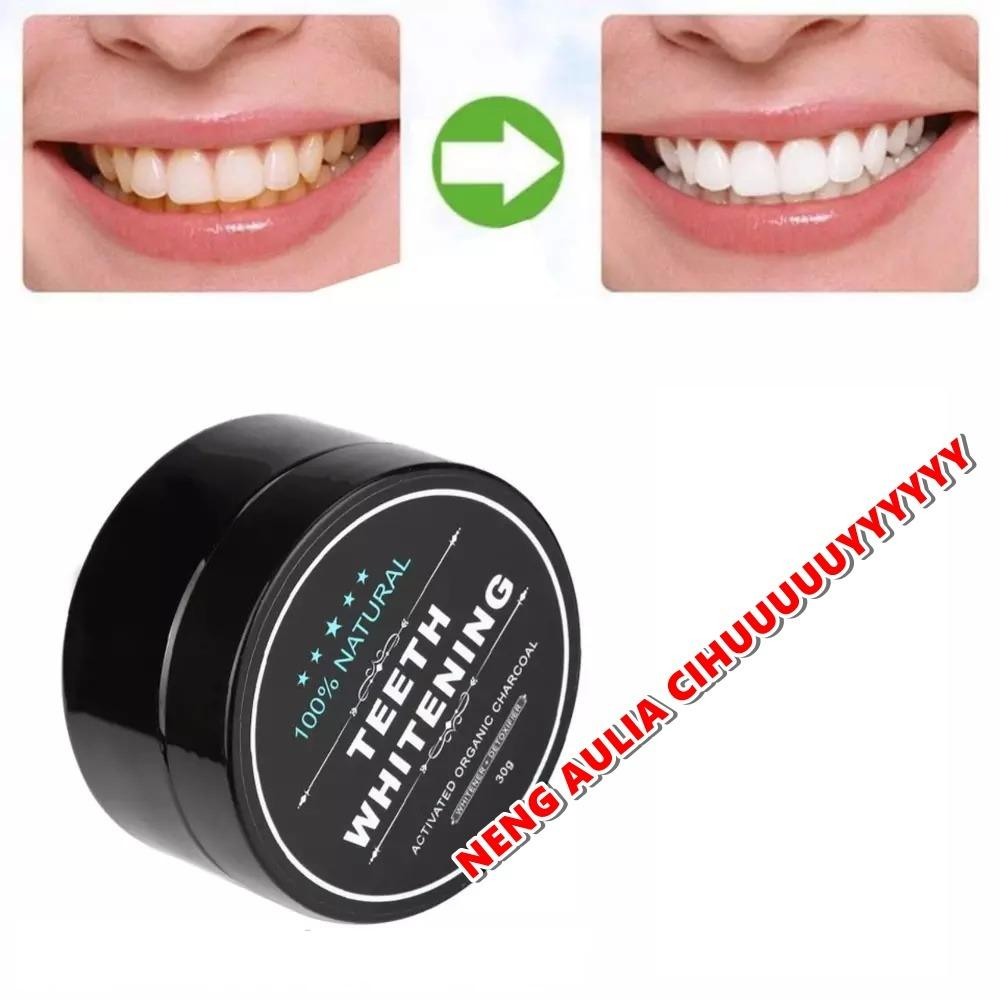 Pemutih Gigi Charcoal Whitening Teeth