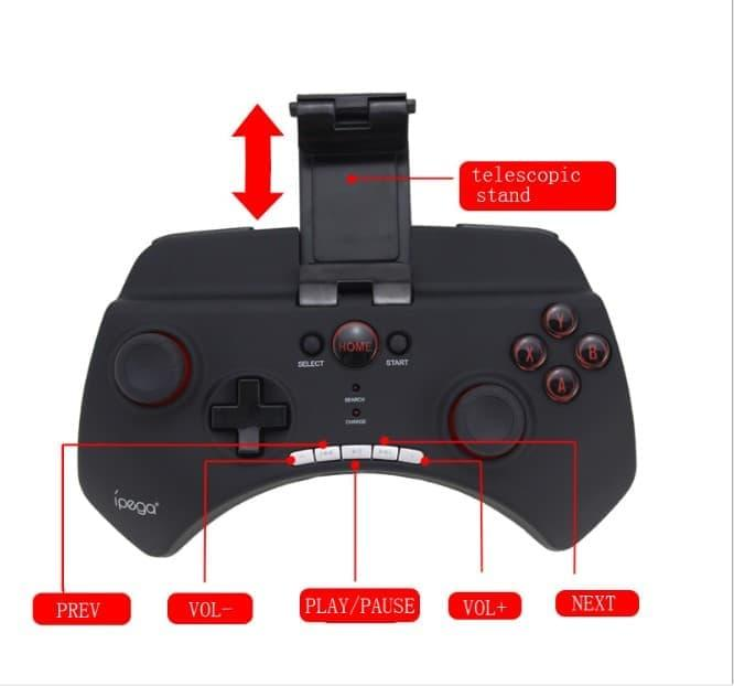 Review Toko49 Gamepad Ipega Bluetooth Controller Stick For Android
