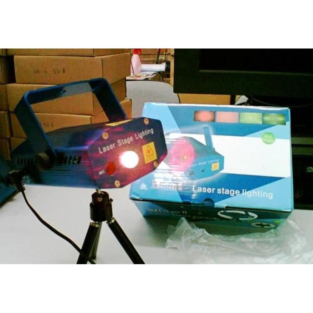 Harga Mini Laser Stage Light Multicolor Projector 6 Pattern Mgy Ampamp Tripod Blue Lampu Disco Proyektor Liquid Sky Lighting