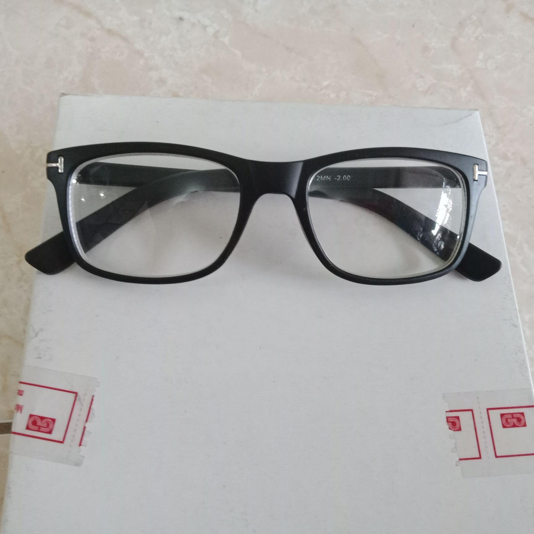 Promo Kacamata Minus 100 Murah Kacamata Baca Oval Coklat Zo114 ... e2dc93346f