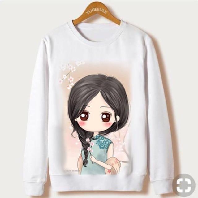 Damai fashion jakarta - baju atasan sweater wanita YOLANDA - konveksi baju murah tanah abang