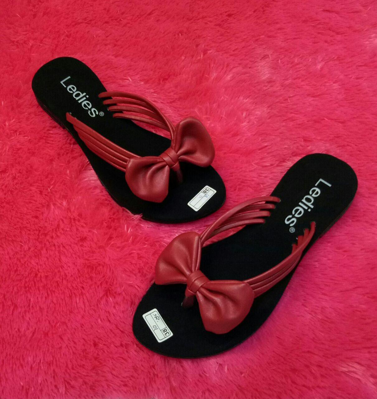 Sandal Pita Jepit Wanita/Sandal Flat Wanita Tali Empat Model Terbaru/Murah-KEJORA